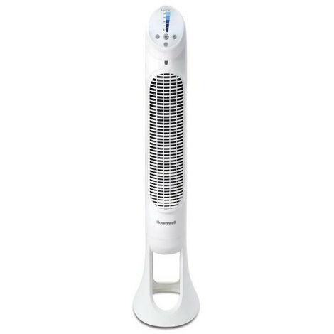 Ventilateur tour oscillant QuietSet / Télécommande / Coloris Blanc HONEYWELL - HYF260E4