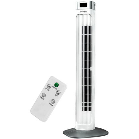 Ventilateur tour, télécommande, oscillant, H 99,5 cm VT-5536