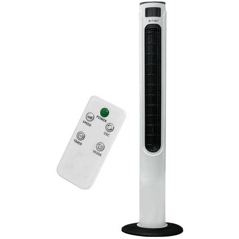 Ventilateur tour, télécommande, oscillant, H120 cm VT-5546