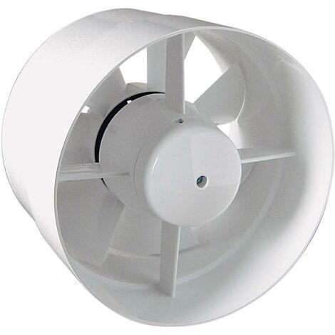 Ventilateur tubulaire encastrable 230 V 105 m³/h 10 cm SIKU 27513