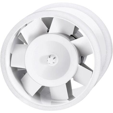 Ventilateur tubulaire encastrable 230 V 110 m³/h 10 cm Sygonix 33925Q S39259