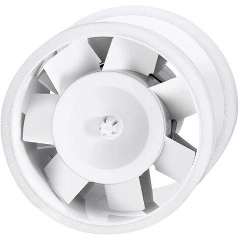 Ventilateur tubulaire encastrable 230 V 180 m³/h 12.5 cm Sygonix 33925A