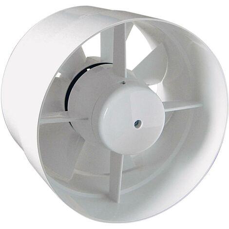 Ventilateur tubulaire encastrable 230 V 185 m³/h 12.5 cm SIKU 27528 S87599