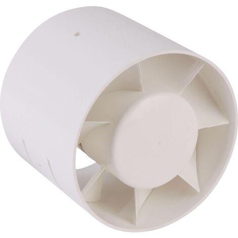 Ventilateur tubulaire encastrable 24 V 90 m³/h 10 cm Wallair 20100258 S24473