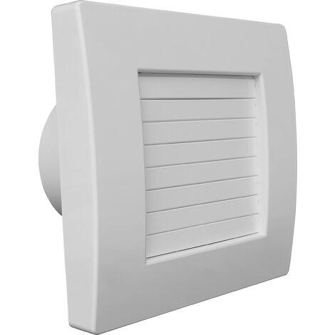 Ventilateur Wallair W-Style Premium 150 Jalousie avec hygrostat + minuterie Y618011