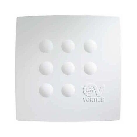 Ventilateurs centrifuges pour conduits avec minuterie électronique Vortice Quadro Micro 100 T - sku 11940