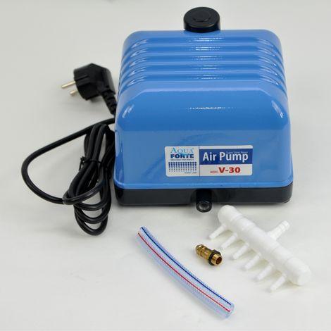 Ventilation de bassin Pompe à air Pompe d'aération AquForte V-30 SC404