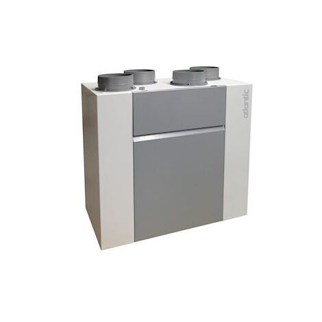 Ventilation double flux optimocosy plus haut rendement by pass et connecté - T2/T7 - Gris - Gris