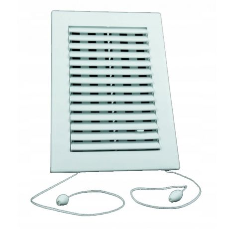 Ventilation grille with venetian blind string 14x2 New