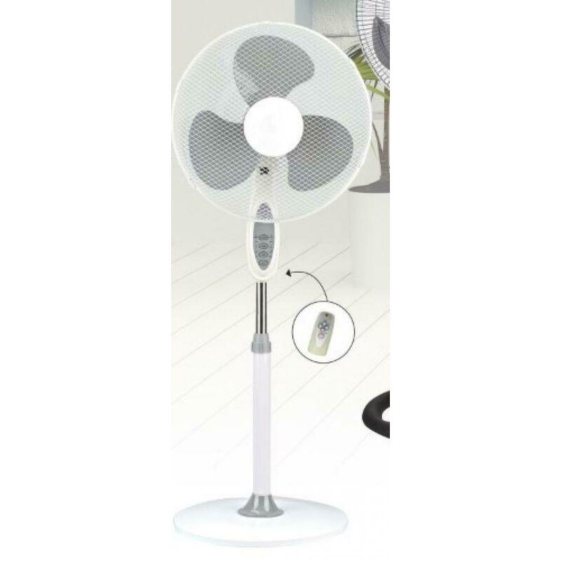Ventilatore A Colonna Con Oscillazione Orizzontale Diametro Pale 40Cm Con Telecomando Ve1620T Dcg