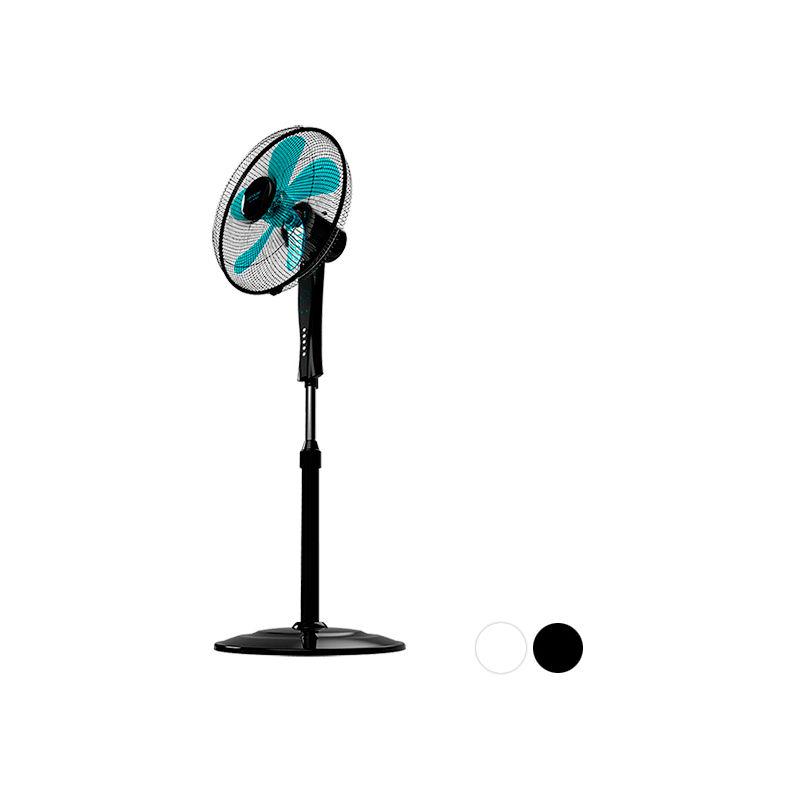 Ventilatore a Piantana ForceSilence 530 Power Connected 50W (Ø 40 cm) Nero Nero Cecotec