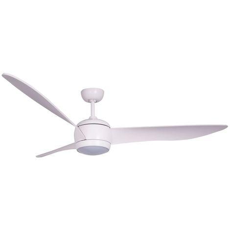 Ventilatore a soffitto 3 pale Bianco cm 142x35,5x142 Lucci Air 512911