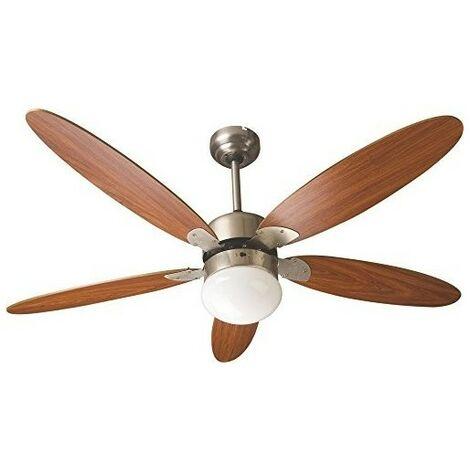 Ventilatore a Soffitto con Telecomando e Luce