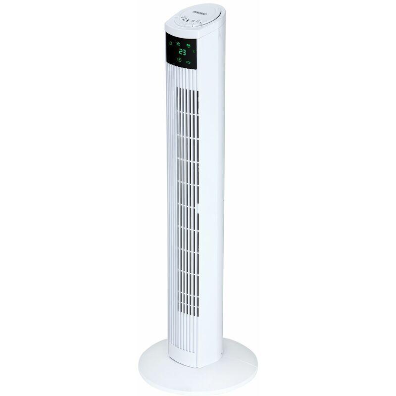 Ventilatore a Torre Monzana con Telecomando Super Silenzioso Modalità Sonno 3 Velocità Ventilatore a Co