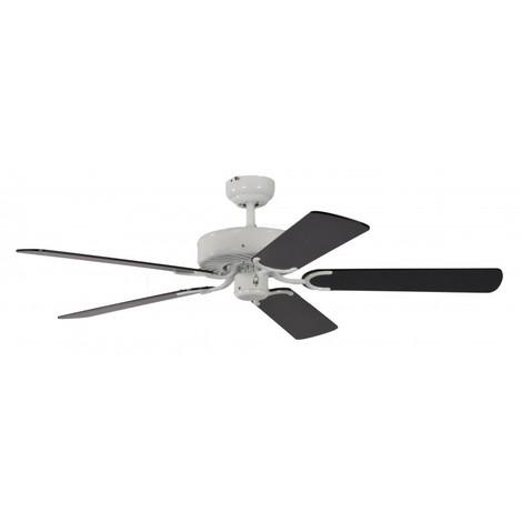 Ventilatore da soffitto Bianco e Nero cm 132x33x132 Pepeo GmbH 13312010132_v3