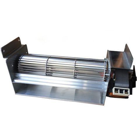 Ventilatore tangenziale da 80 motore destro termocamino stufa pellet camino 230V