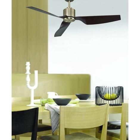 Ventilatore per soffitto con motore DC cm 127x33x127 Lucci Air 210526