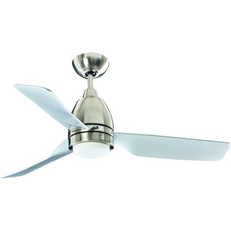 Ventilatore per soffitto e luce LED 12W PERENZ 7148 CR