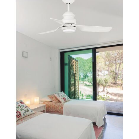 Ventilatori da soffitto Phuket - Bianco 3 palas - 33498
