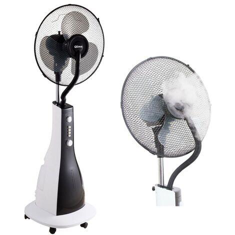 Ventilatore Portatile Nebulizzatore Acqua Elettrico Oscillante Nebbia a Piantana