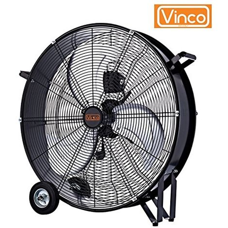 Ventilatore silenzioso a grande portata diam. 60cm Vinco -Industrial