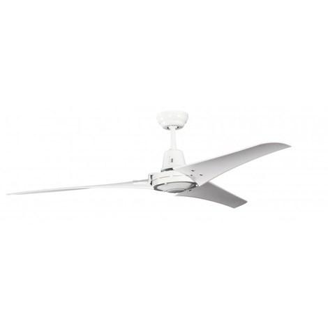 Ventilatore Soffitto Industriale Bianco cm 142x38x142 Pepeo GmbH 13512011142_FB