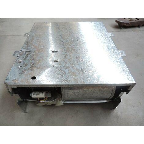 Ventilo-convecteur taille 01 à encastrer 2 tubes 458x480x225mm installation à eau (PAC) VN 100 version SM TECNOCLIMA