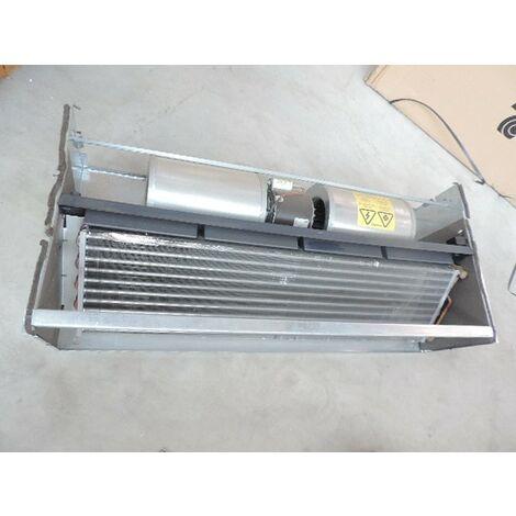 Ventilo-convecteur taille 06 à encastrer 2 tubes 1088x480x260mm sans carrosserie pose plafond/mur VN 600 version SM TECNOCLIMA