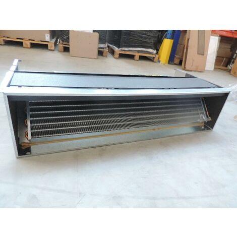 Ventilo-convecteur taille 07 à encastrer 2 tubes 1088x480x260mm sans carrosserie pose plafond/mur VN 700 version SM TECNOCLIMA