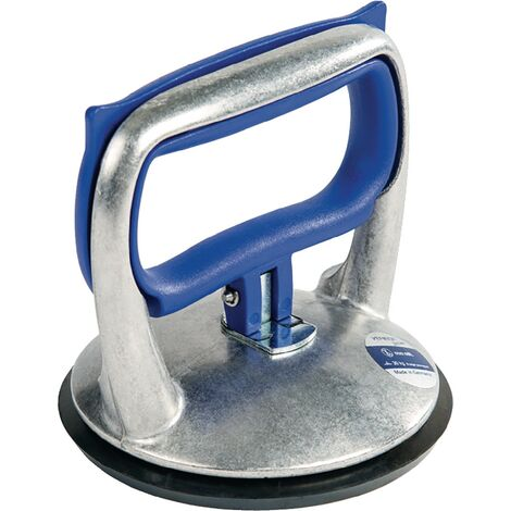Ventouse de levage blue line Capacité de charge 30 kg Ø de la tête 12 1 tête aluminium