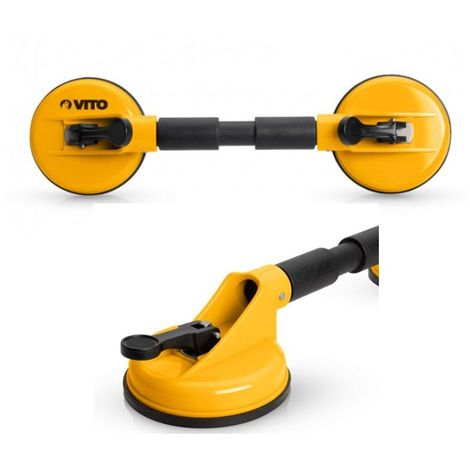 Ventouse de manutention double VITO capacité maximale levage 80 Kg Haute qualité