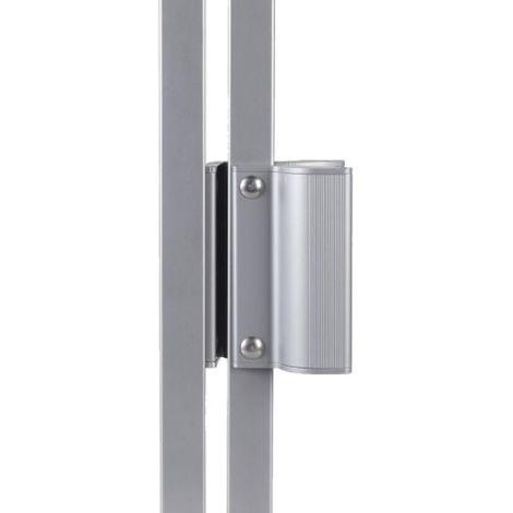 Ventouse électromagnétique extérieure type MAG 2500 en 250 kgs 12/24 V DC avec poignée
