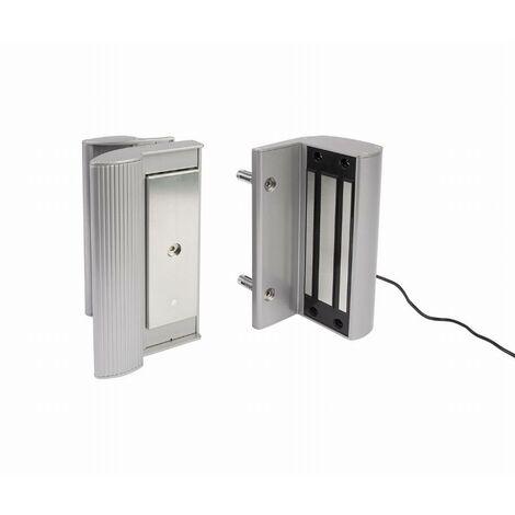 Ventouse électromagnétique LOCINOX 250 kg - Avec poignée en applique - MAG 2500 ZILV