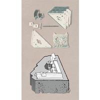 Verankerungs-Set AK 100 Beton für ARROW Metallgerätehaus