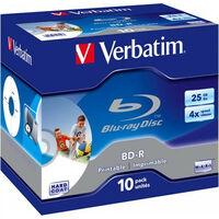 Verbatim BD-R 25Go 10 pièces en Jewelcase (43669)