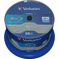 Verbatim Datalife 6x - BD-R - 25 Go - 405 nm - 650 nm - Multicolore - 6x (43838)