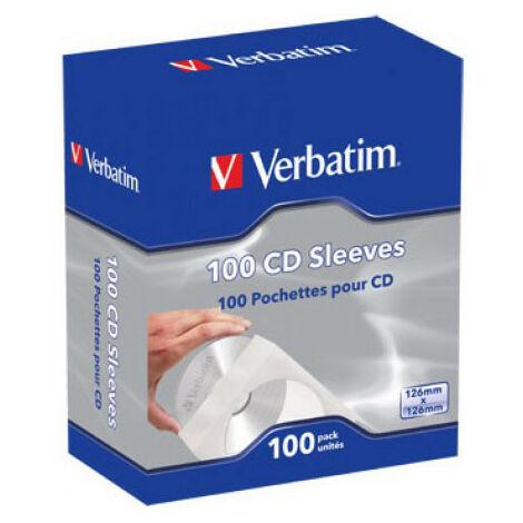 Verbatim Enveloppe pour 1 Disc, 100 pièces (49976)