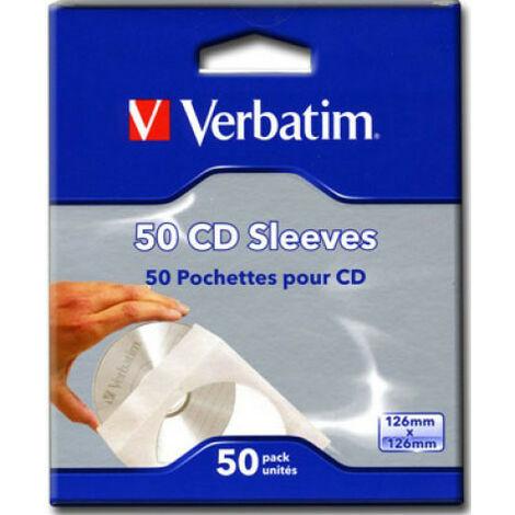 Verbatim Enveloppe pour 1 Disc, 50 pièces (49992)