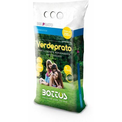 Verdeprato 11-0-0 + 6 Fe - Engrais pour la pelouse de 5 kg