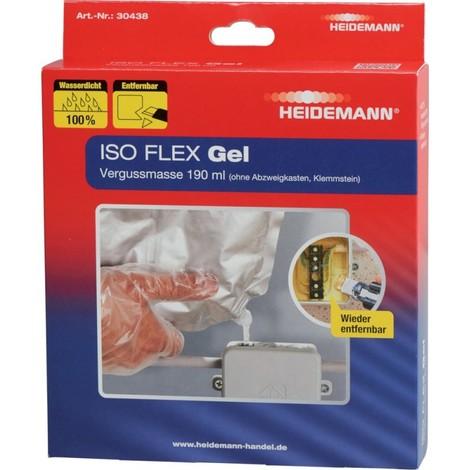 Verguss Masse ISO Flex Gel 190 ml sans boite de dérivation