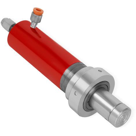 Vérin hydraulique cylindre de lavage pour presses datelier 20T (force de pression 20t, raccord hydraulique M14x1.25, manomètre raccord M20x1.5, filetage extérieur cylindre M75x2.0)