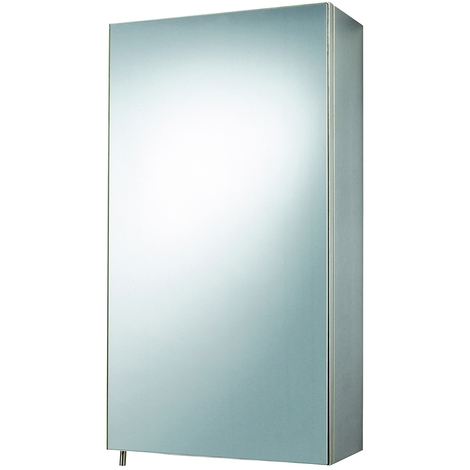 """main image of """"Veritas 300mm x 550mm Stainless Steel Mirrored Cabinet"""""""