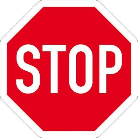 Verkehrszeichen 206 Achteck 900mm Stoppschild