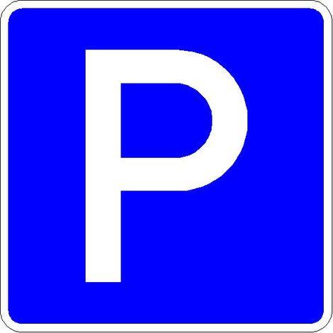 Verkehrszeichen Quadrat 314 Parken 600 x 600 mm RA1 STVO