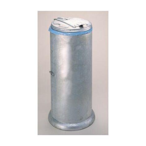 Verkleideter Müllsackständer mit Deckel | für Inhalt 60 l | feuerverzinkt |