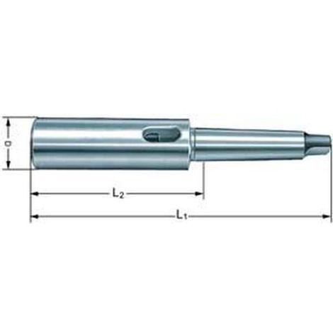 Verlängerungshülse, ähnl. DIN 2187, MK2, Länge 175 mm
