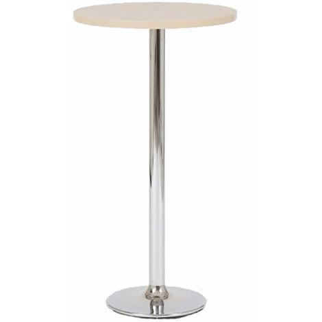 Verley Poseur Tall Round Bar Table - Beech