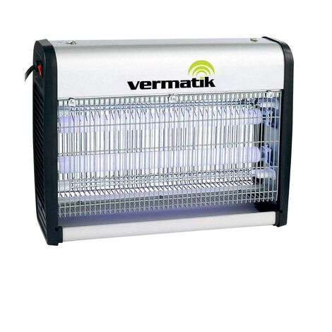 Vermatik Pro Electric Insect Fly Killer Bug Zapper Large Room Coverage, Home or Commercial Use Standing or Wall Hanging, Alternative to a Fly Swatter, Mosquito Pest Control Solution