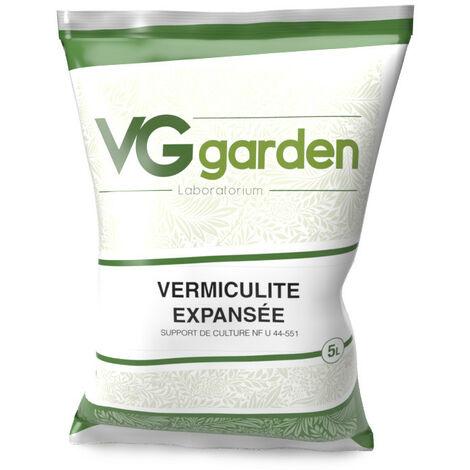 Vermiculite expansée en 5L - VG Garden