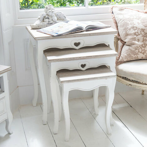 Vermont Shabby Chic Nest Of Tables